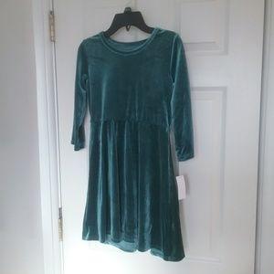 Other - NWT Girl's Velour Skater Dress Final Price